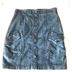 Level 99 Demin Skirt